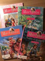 """Zestaw książek """"Martynka"""" Gilbert Delahaye, Wanda Chotomska Papilon"""