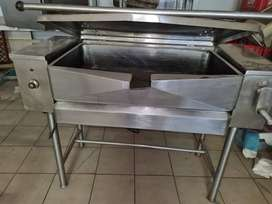 80 Litre Tilting Frying Pan three phase
