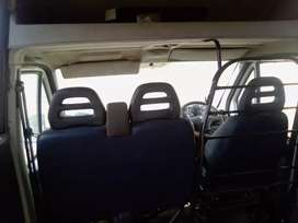 Selling my Peugeot Boxer 2,8. 18 seater,without engine papers in order