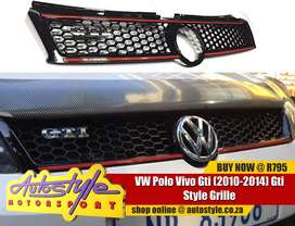 2014 VW Polo Gti Grille Kit exc badge- full range accessories, mags, t