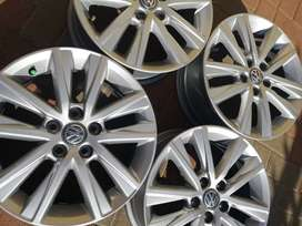 Vw polo vivo mag rims forsale size 15 price R3500