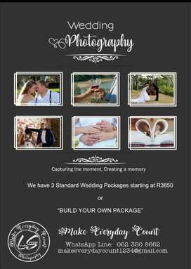 Elopement/Wedding Photography packages