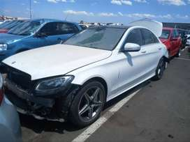 W205 Merc Benz 2017 C180 breaking up for spares