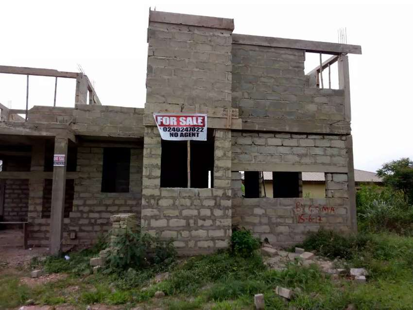 Storey building for sale at mallam Gbewe 0