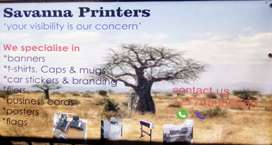 Printing and signage services