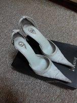 Туфли свадебные Pier Lucci 36, 37 размер на стопу 24 см, Кожа , Италия