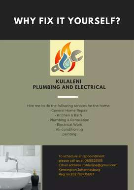 Plumbing and electricity ( handyman services)