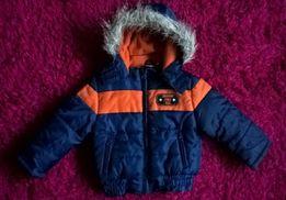Ciepła kurtka dla synka Lupilu r. 92