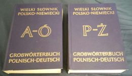 Wielki słownik polsko-niemiecki - 2 tomy