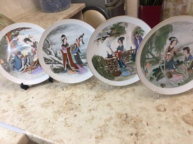 Тарелки китайский фарфор