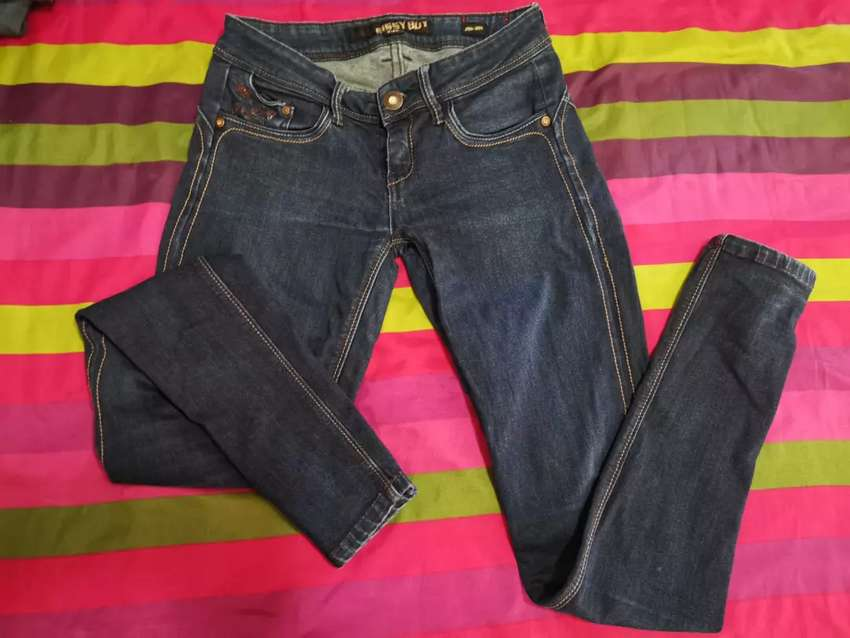 Sissy Boy dark denim jeans 0