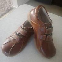 Skórzane buty dla chłopca rozm. 29
