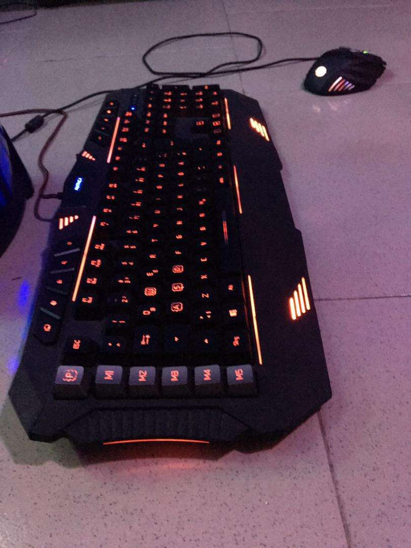 Parthica Core Gaming Keyboard + Mouse 0
