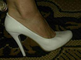 Туфли свадебные ( возможен обмен)