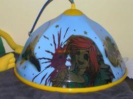 lampa dla dziewczynki