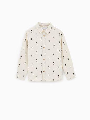 Рубашка Zara 4-5 лет, 104-110 размер