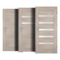 Drzwi wewnętrzne w 7 Dni pokój, łazienka, szklone, PERFECT DOOR FRESNO