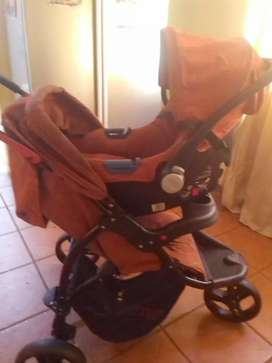 Pram with a car sit for sale