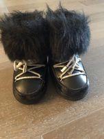 Зимние ботинки луноходы