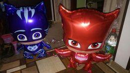 Фольгированные шары-ходячки Герои в масках