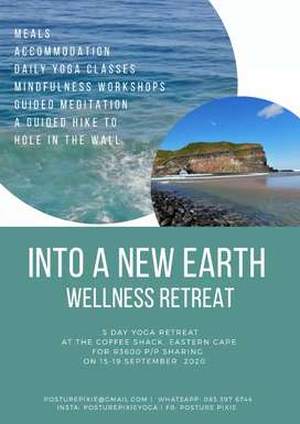 Into A New Earth Wellness Retreat