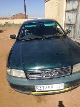 This audi A4 is in a good condition...problem is that