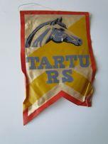 Proporczyk Tartu RS Ratsakool Estonia Szkoła Jeździecka