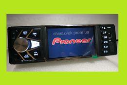 Автомагнитола Pioneer 4038 CRB, выход под камеру, блютуз