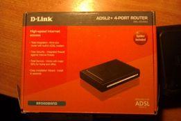 Модем-роутер D-link АDSL2 + 4 -PORT ROUTER (без Wi-Fi)