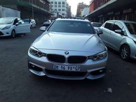 BMW 420I grand Cupe 2015model  automatic transmission