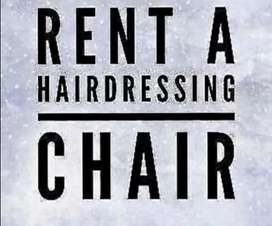 Rent a chair available for hairdresser