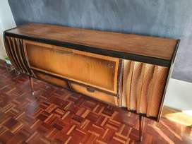 Vintage Retro Mid Century 50s 60s Philips Stereo Radiogram Sideboard