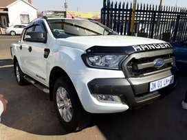 2016 Ford Ranger 3.2 Double Cab and service book and leather seat