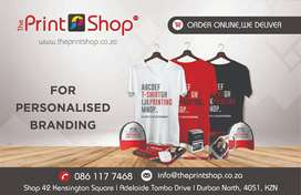 The Print Shop - We offer Personalized Branding - Caps and T-Shirts