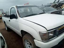 Toyota hilux stripping for spares diesel 2.4lts