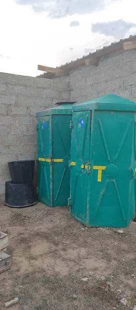 Selling my Mobile Toilets