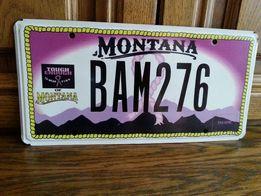 Tablica rejestracyjna Montana