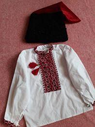 Український костюм шапка каракуль вишиванка вышиванка детская