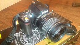 Продам фотоаппарат NIKON D40 kit