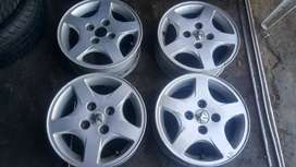 Set of rim 14inches 5.5J for Peugeot
