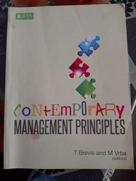 Contemporary Management Principles textbook