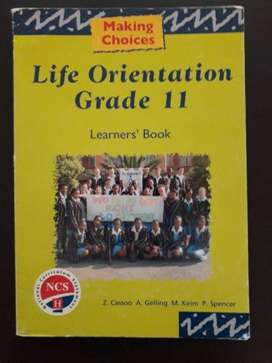 Life Orientation - Grade 11 - Learners Book - Making Choices.