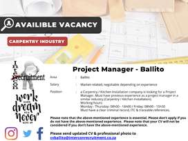 Project Manager - Ballito