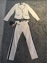 Garnitur spodnie zara r36 żakiet rS