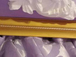 Литой потолочный металлический карниз, 2.5 метра