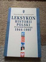 Leksykon historii Polski po II wojnie światowej H. Konopka, A. Konopka