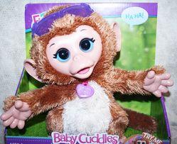 Смешливая обезьянка Hasbro Fur Real Friends. в наличии