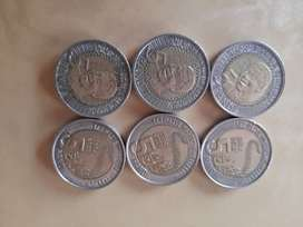 Mandela coins>> negotiable price