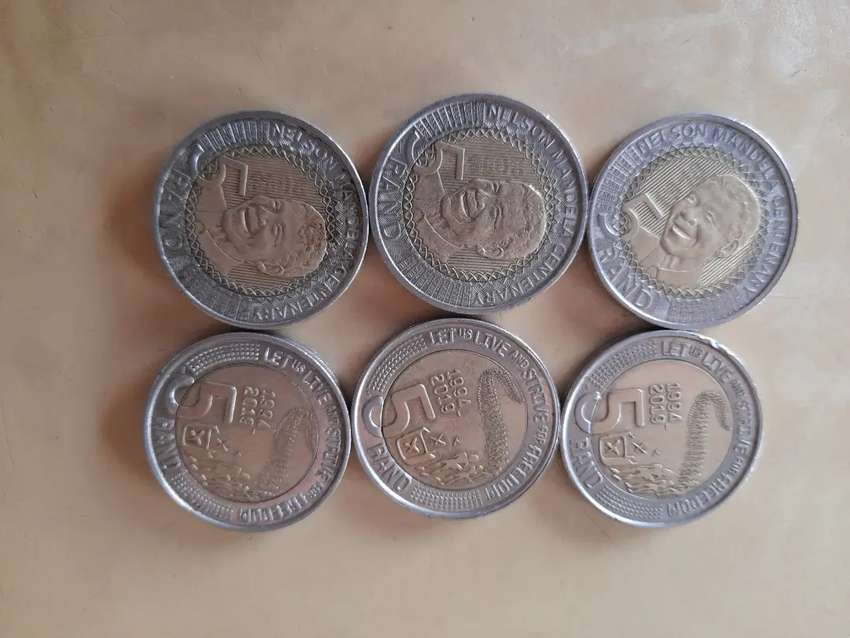 Mandela coins>> negotiable price 0