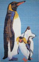 Вышитая картина пингвины